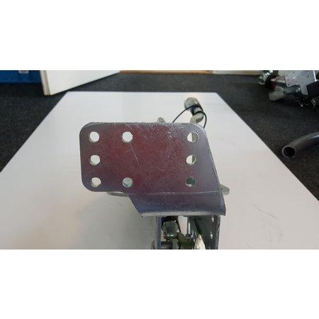 BPW Oplooprem ZAF 1.6-3 - Hapert - 750 > 1500 kg - inclusief neuswielconsole