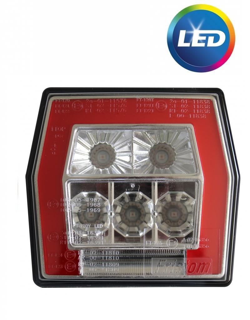 Fristom Fristom FT-120 links/rechts - 99,5x93x39,5 mm - LED