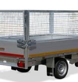 Eduard Geremde Eduard achterwaartse kipper - 256x150 cm - 1500 kg bruto laadvermogen - elektrisch, extern laden met afstandsbediening - 63 cm laadvloerhoogte