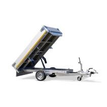 256x150 cm - 1500 kg - elek/afstands/handpomp