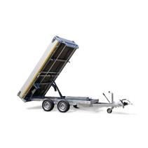 256x150 cm - 2000 kg - elektrisch - 63 cm