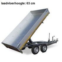 310x160 cm - 2000 kg - handp/afstands - 40 cm borden