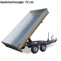 256x150 cm - 2000 kg - elek/handpomp