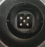 Aluminium lichtbalk met Radex 5500 lampen - 7 polig - voorzien van Radex connectoren