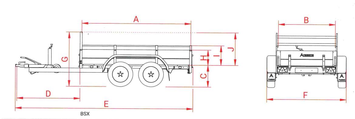 technische tekening anssems bsx 2500 251x130 cm