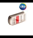 Achterlicht links connector 228x106x55 mm
