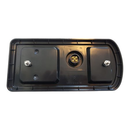 AWD Achterlicht Aspöck connector 228x106x55 mm - volledig LED en Plug&Play - rechts