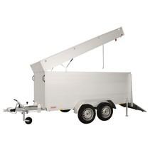 GTT 1500 VT2 301x126x118 cm - 1500 kg - geremd