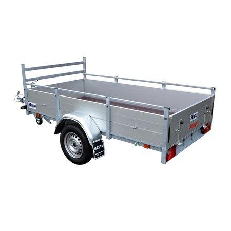 Anssems Anssems BSX 750 bakwagen - 750 kg bruto laadvermogen - 205x120 cm laadoppervlak - ongeremd
