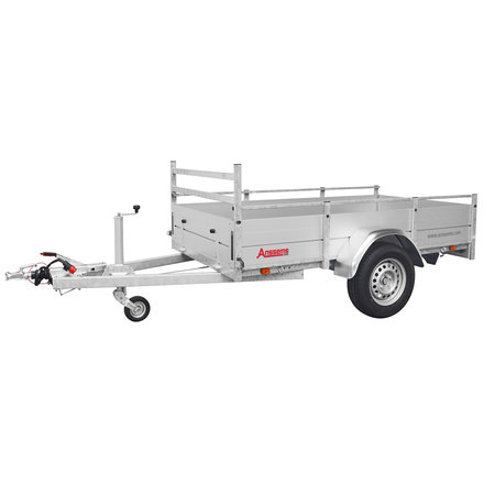 Anssems Anssems BSX 1350 bakwagen - 1350 kg bruto laadvermogen - 251x130 cm laadoppervlak - geremd