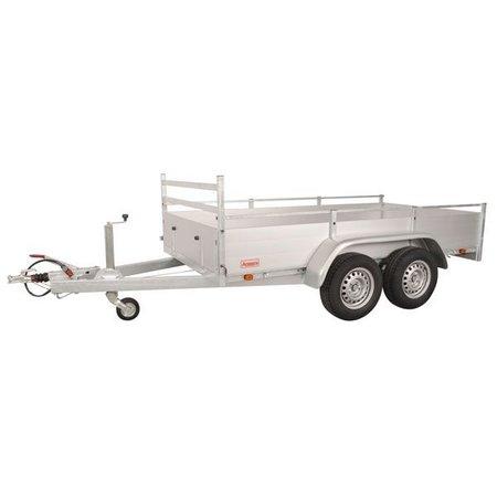 Anssems Anssems BSX 2500 bakwagen - 2500 kg bruto laadvermogen - 301x150 cm laadoppervlak - geremd