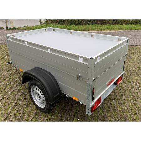 Anssems Anssems GT 500 bagagewagen - 500 kg bruto laadvermogen - 181x101x48 cm laadoppervlak - ongeremd - inclusief deksel