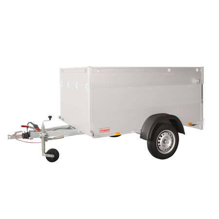 Anssems Anssems GTB 1200 VT1 bagagewagen - 1200 kg bruto laadvermogen - 251x126x83 cm laadoppervlak - geremd - inclusief deksel
