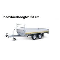 310x160 cm - 2000 kg - inclusief oprijplaten