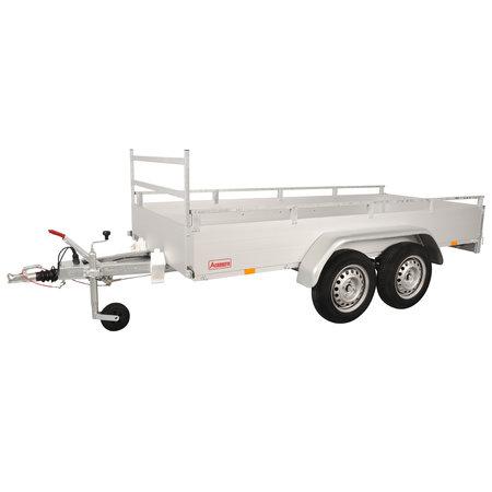 Anssems Anssems GTT 2000 R bakwagen - 2000 kg bruto laadvermogen - 301x151 cm laadoppervlak - geremd - inclusief reling en voorrek