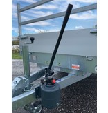 Eduard Geremde Eduard achterwaartse kipper - 256x150 cm - 2000 kg bruto laadvermogen - handpomp - 63 cm laadvloerhoogte