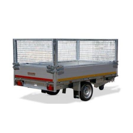 Eduard Geremde Eduard achterwaartse kipper - 256x150 cm - 1350 kg bruto laadvermogen - elektrisch, extern laden met afstandsbediening - 63 cm laadvloerhoogte