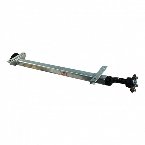 Knott Ongeremde torsie as - padmaat 1100 mm - flensmaat 1550 mm - 750 kg - 4x100