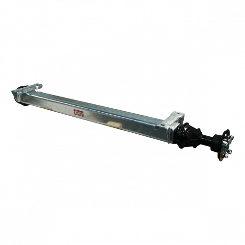 Knott Ongeremde torsie as - padmaat 1100 mm - flensmaat 1550 mm - 850 kg - 4x100