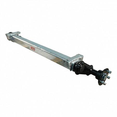 Knott Ongeremde torsie as - padmaat 1100 mm - flensmaat 1550 mm - 1050 kg - 5x112