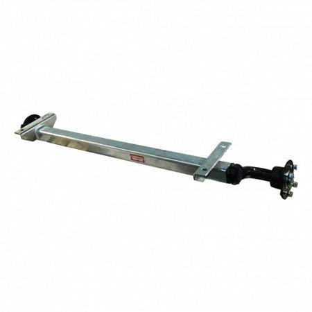 Knott Ongeremde torsie as - padmaat 1250 mm - flensmaat 1620 mm - 750 kg - 4x100