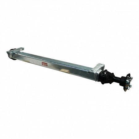 Knott Ongeremde torsie as - padmaat 1250 mm - flensmaat 1700 mm - 850 kg - 4x100