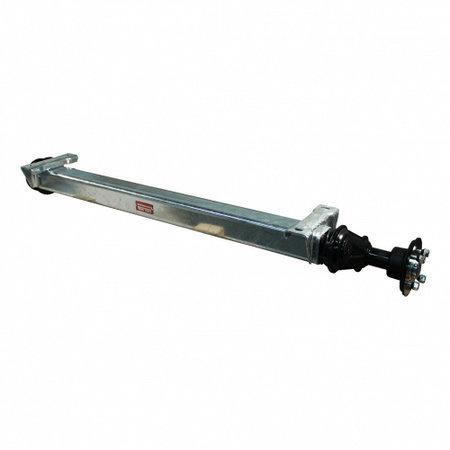 Knott Ongeremde torsie as - padmaat 1300 mm - flensmaat 1750 mm - 1050 kg - 5x112