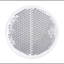 Witte reflector 58 mm zelfklevend rond
