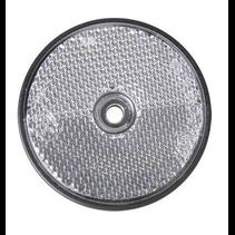 Witte reflector 60 mm schroefgaten rond