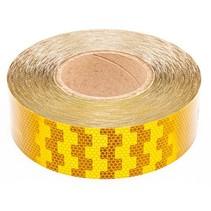 Tape - 50 meter - geel - harde ondergrond