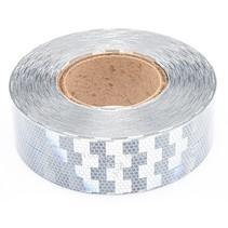 Tape - 50 meter - wit - harde ondergrond