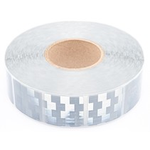 Tape - 50 meter - wit - zachte ondergrond