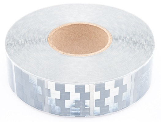 Avery 50 meter reflecterende tape voor zachte ondergrond - wit