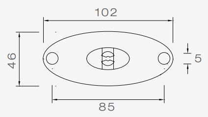 Aspock Flatpoint 2 - oranje/gele markeringslamp - connector aansluiting - LED  Merk: Aspock  Model: Flatpoint 2  Aspock nummer: 31-2309-027  Type verlichting: LED  Aansluiting: 50 cm 2-aderige platte kabel (eenvoudig aan te sluiten met de onderstaande DC connectoren)  Kleur: oranje/geel  Aantal: 1  Toepassing: links of rechts  Afmetingen: 102x46 mm  Technische tekening  Aspock DC connectoren aansluiten technische tekening