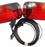 Aspock 7-polige Aspock Multipoint 3 verlichtingsset met 4 meter hoofdkabel