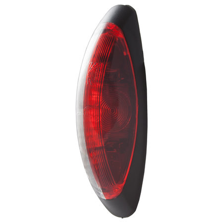 Aspock Flexipoint 2 markeringslicht rood/wit 225 cm
