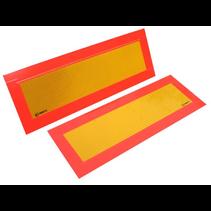 Markeringsstickers 56x20 cm - 2 stuks