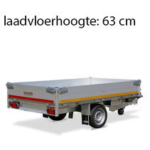 256x150 cm - 1500 kg - elektrisch