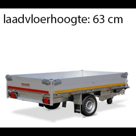 Eduard Geremde Eduard achterwaartse kipper - 256x150 cm - 1500 kg bruto laadvermogen - elektrisch, extern laden - 63 cm laadvloerhoogte