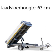 256x150 cm - 1350 kg - elek/afstands/handpomp