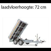 256x150 cm - 2000 kg - handpomp