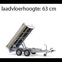 310x160 cm - 2000 kg - elek/afstands - 40 cm borden