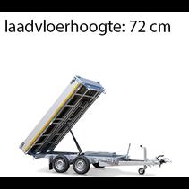 256x150 cm - 2500 kg - elek/handpomp