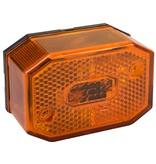 Aspock Aspock Flexipoint - oranje/gele markeringslamp - losse draad aansluiting - gloeilamp