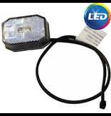 Aspock Aspock Flexipoint LED - wit - 50 cm platte kabel - DC kabel