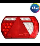Aspock Lucidity LED rechts met ingebouwde weerstand