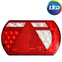 LED rechts met ingebouwde weerstand -connector