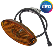 Aspock Flatpoint 2 - oranje/geel - connector