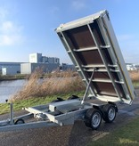 Eduard Geremde Eduard achterwaartse kipper - 310x180 cm - 2000 kg bruto laadvermogen - elektrisch - 72 cm laadvloerhoogte - 30 cm borden