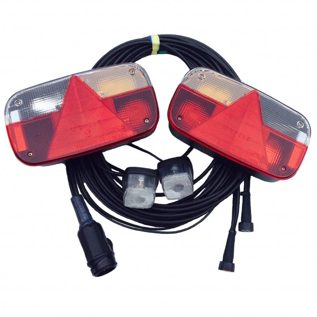 Aspock Aspock Multipoint 3 verlichtingsset - 5,5 meter hoofdkabel - 13 polig - inclusief voorgemonteerde markeringsverlichting
